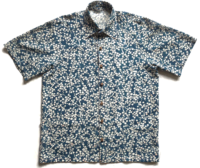OG ALO-HA Shirt Vintage Kimono Fabric - Dec0eight